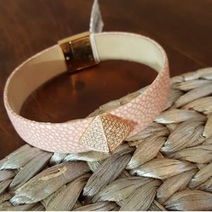 Michael Kors rose gold tone and pink Bracelet